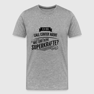 Call Center Agent - Männer Premium T-Shirt