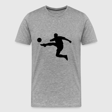 sports, football, kick - Men's Premium T-Shirt
