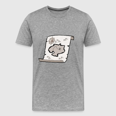 treasure map - Men's Premium T-Shirt