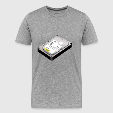hard disk - Men's Premium T-Shirt