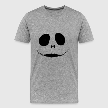 scary face - Men's Premium T-Shirt