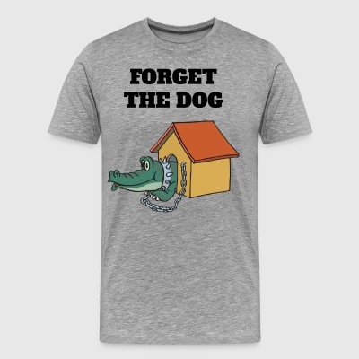 Forget The Dog - Premium-T-shirt herr