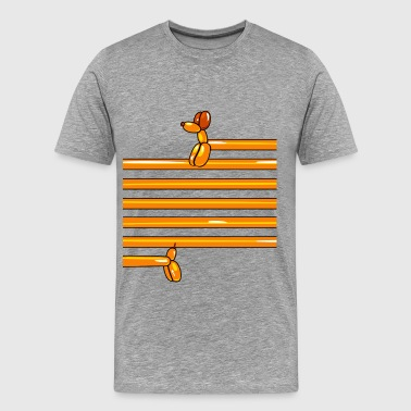 ballon-dog - Männer Premium T-Shirt