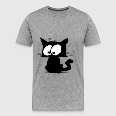 Black Cat 01 - Men's Premium T-Shirt