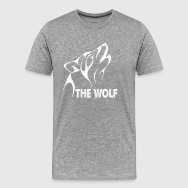 The Wolf. Alpha Dad. Gifts for the whole family - Men's Premium T-Shirt