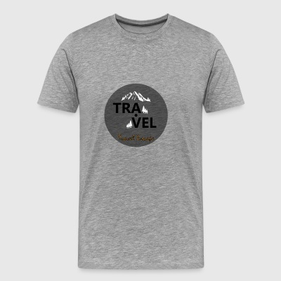 Travel + Escape - Premium-T-shirt herr
