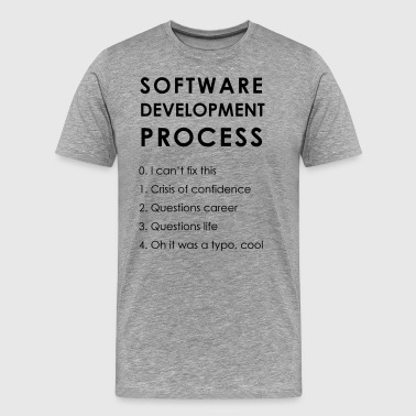 Software Development Process - Men's Premium T-Shirt