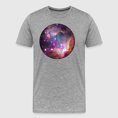 Galaxy - Space - Stars - Cosmic - Art - Universe T - Premium-T-shirt herr