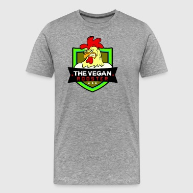 THE VEGAN ROOSTER - Men's Premium T-Shirt