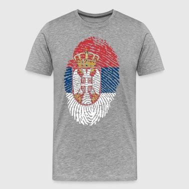 SERBIA 4 EVER COLLECTION - Men's Premium T-Shirt