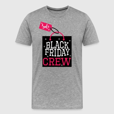Black Friday Crew.Amour Shopping.Sale.Shopping Fille - T-shirt Premium Homme