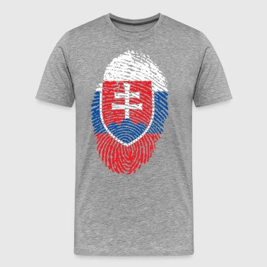 SLOVAKIEN 4 NÅGONSIN COLLECTION - Premium-T-shirt herr