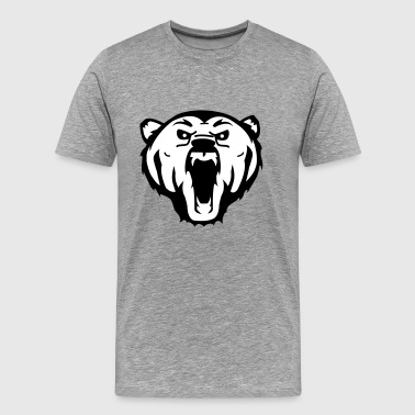 bear grizzly - Men's Premium T-Shirt