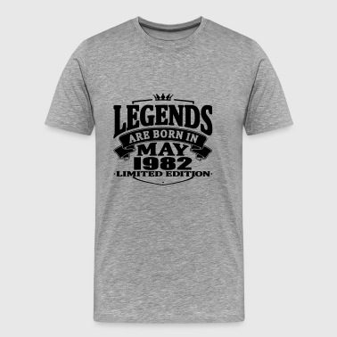 Legends are born in may 1982 - Men's Premium T-Shirt