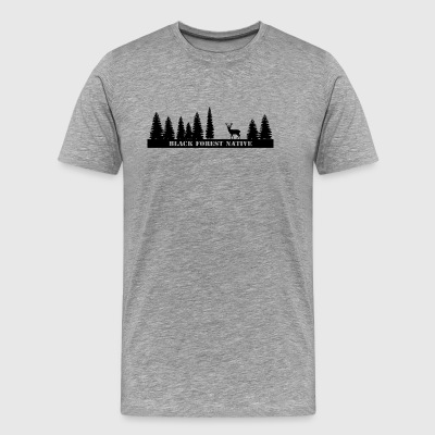 Black Forest Native - Men's Premium T-Shirt