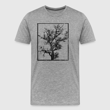 Tree black and white washed - Men's Premium T-Shirt