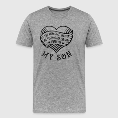 Tattoo Love > My Tattoos And My Son - Männer Premium T-Shirt