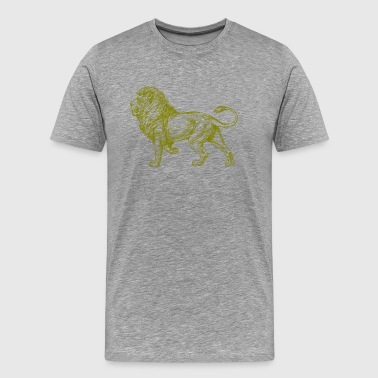Golden Lion - Männer Premium T-Shirt