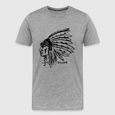 Indean Cheif - Men's Premium T-Shirt