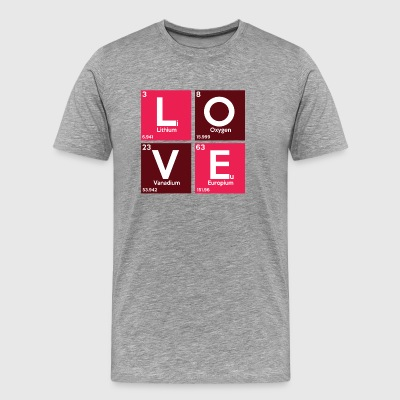 Love is Chemistry - Männer Premium T-Shirt