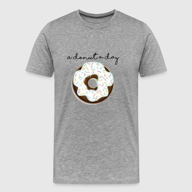 A Donut A Day - Men's Premium T-Shirt