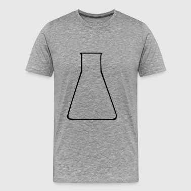 Test Tube - Laboratory - Herre premium T-shirt