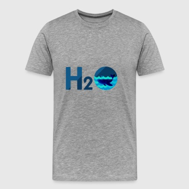 Cool H2O Design - Mannen Premium T-shirt