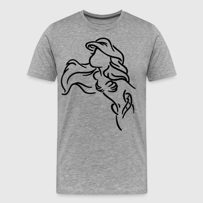 Mermaid - Premium-T-shirt herr