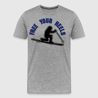 free your heels z3 - Men's Premium T-Shirt