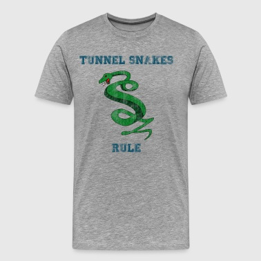 Tunnel Snakes Rule - Men's Premium T-Shirt
