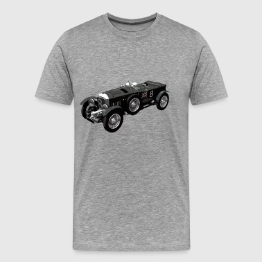 Bentley 4.5 litre classic race car - Men's Premium T-Shirt