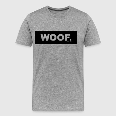 WOOF urban.dog Black - Men's Premium T-Shirt