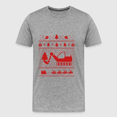 Kerstmis - - Xmas - Ugly - graafmachines - Mannen Premium T-shirt