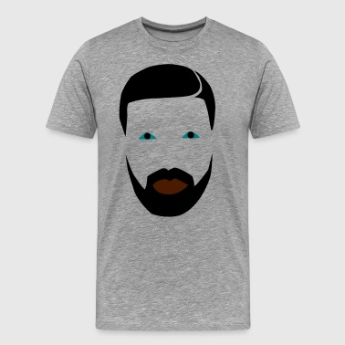 rapper Face - Men's Premium T-Shirt