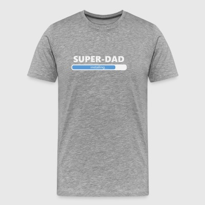 Installing Super Dad (1050) - Men's Premium T-Shirt