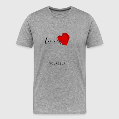 love yourself - Men's Premium T-Shirt