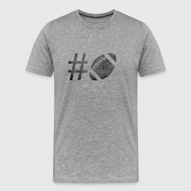 #FOOTBALL - Mannen Premium T-shirt