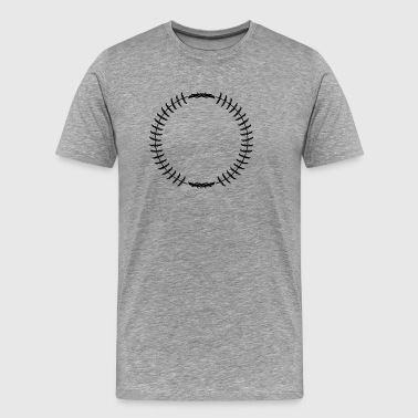 Wreaths · Shapes · Symbols - Men's Premium T-Shirt