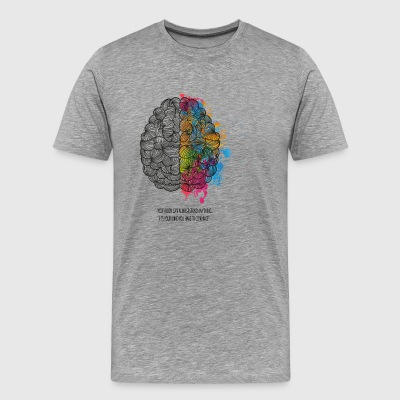 brains - Men's Premium T-Shirt