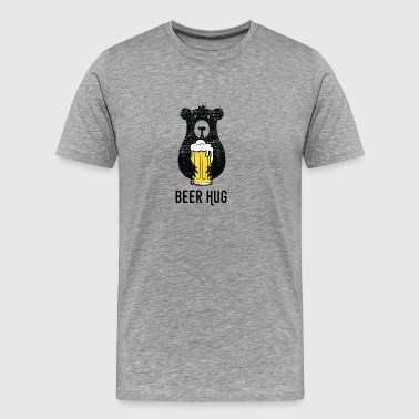 Beer hug! - Men's Premium T-Shirt
