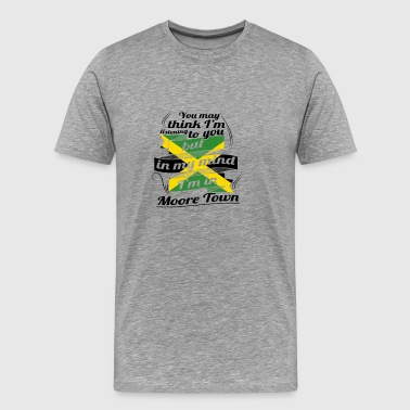 HOLIDAY JAMESICA ROOTS TRAVEL IN Jamaica Moore T - Men's Premium T-Shirt