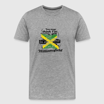 Ferierejser jamaicanske rødder i Jamaica William - Herre premium T-shirt