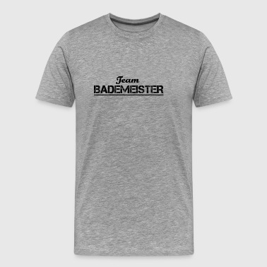 Team Verein Name Crew Party Jga BADEMEISTER - Männer Premium T-Shirt