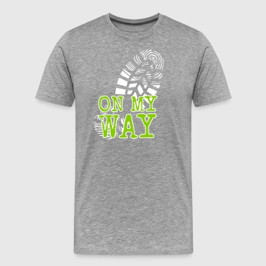 MY WAY - Herre premium T-shirt
