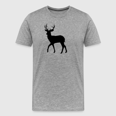 Outdoor · Wild · Deer · Deer - Men's Premium T-Shirt