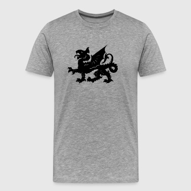 Symbols · Fantasy · Heraldry · Shapes - Men's Premium T-Shirt