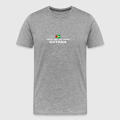 trust me from proud gift GUYANA - Men's Premium T-Shirt