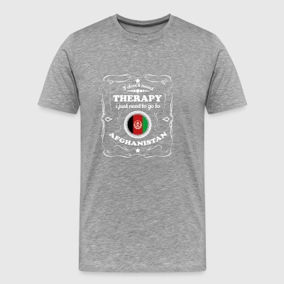 DON T NEED THERAPIE WANT GO AFGHANISTAN - Männer Premium T-Shirt