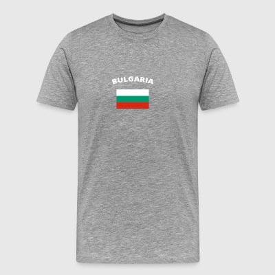 I love home homeland love roots BULGARIA - Men's Premium T-Shirt