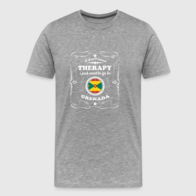 DON T NEED THERAPIE WANT GO GRENADA - Männer Premium T-Shirt